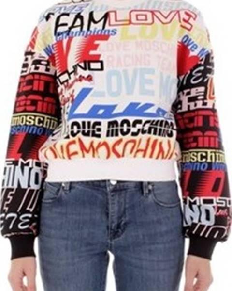 Červená mikina Love Moschino