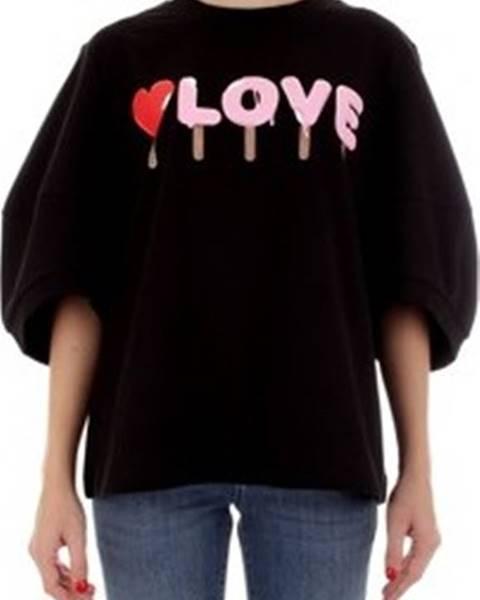 Černá mikina Love Moschino