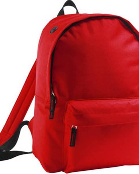 Červený batoh Sols