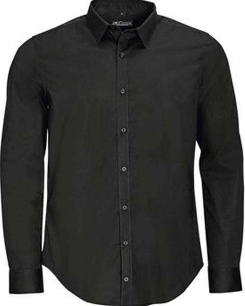 Černá košile Sols