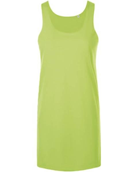 Zelené šaty Sols