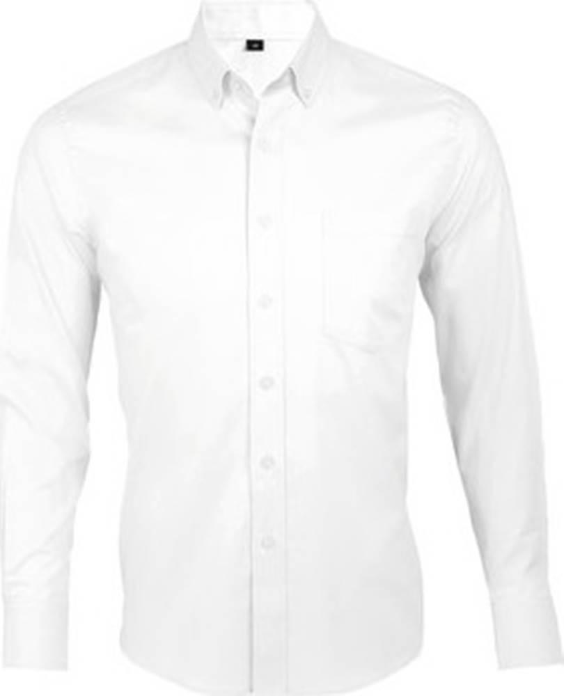 Sols Sols Košile s dlouhymi rukáv BUSSINES MODERN MEN Bílá