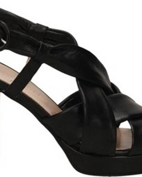 Černé boty Les Venues