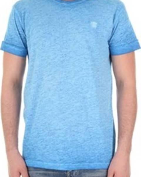 Modré tričko Recycled Art World