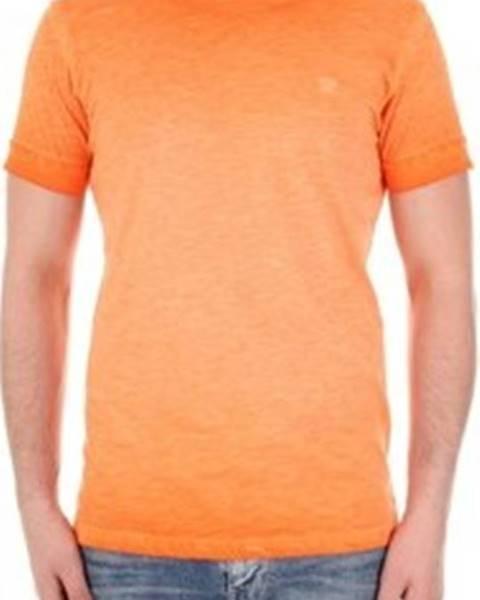 Oranžové tričko Recycled Art World