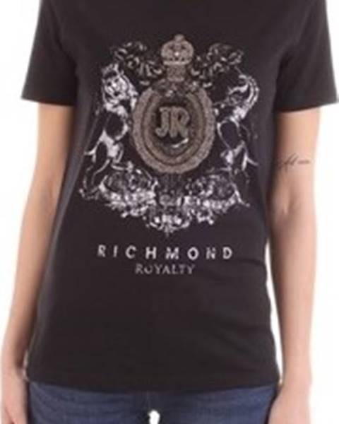 Černý top John Richmond