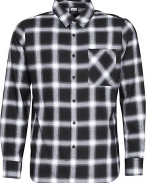 Černá košile Urban Classics