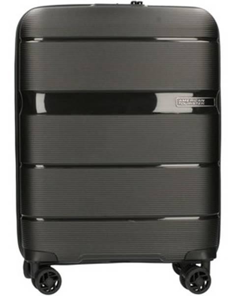 Černý kufr American tourister