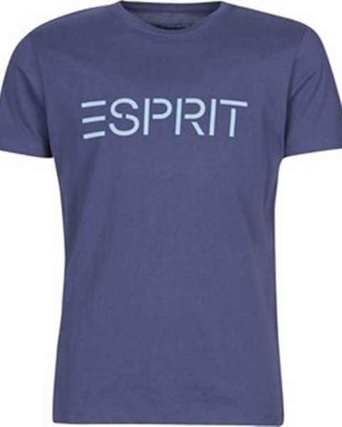Modré tričko Esprit