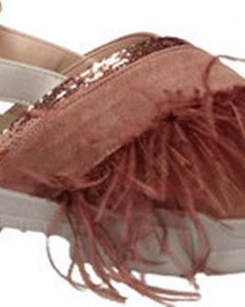 Růžové sandály L4k3