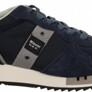 Blauer Módní tenisky QUEENS01 Modrá