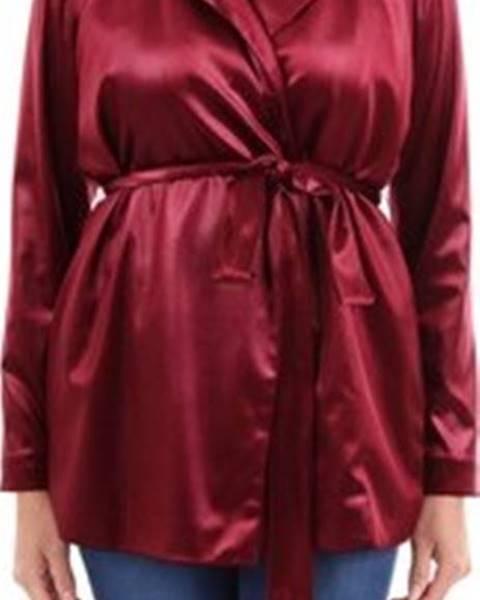 Červená bunda Le Piacentini