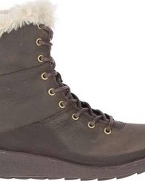 Hnědé boty Merrell