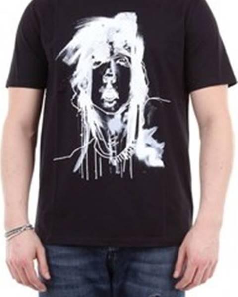 Černé tričko Neil Barrett