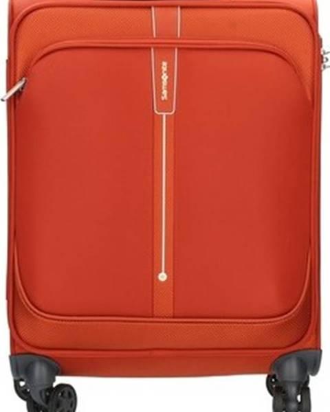 Oranžový kufr SAMSONITE