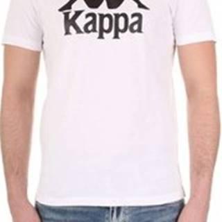 Kappa Trička s krátkým rukávem 303LRZ0 Bílá