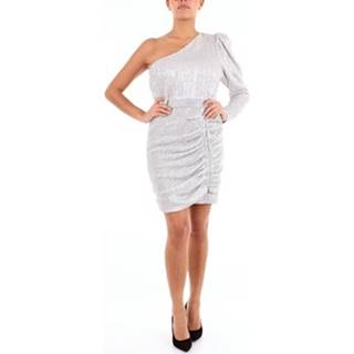 Lavish Alice Krátké šaty 141DS48 Stříbrná