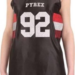 Pyrex Tílka / Trička bez rukávů 19EPC40166 Černá