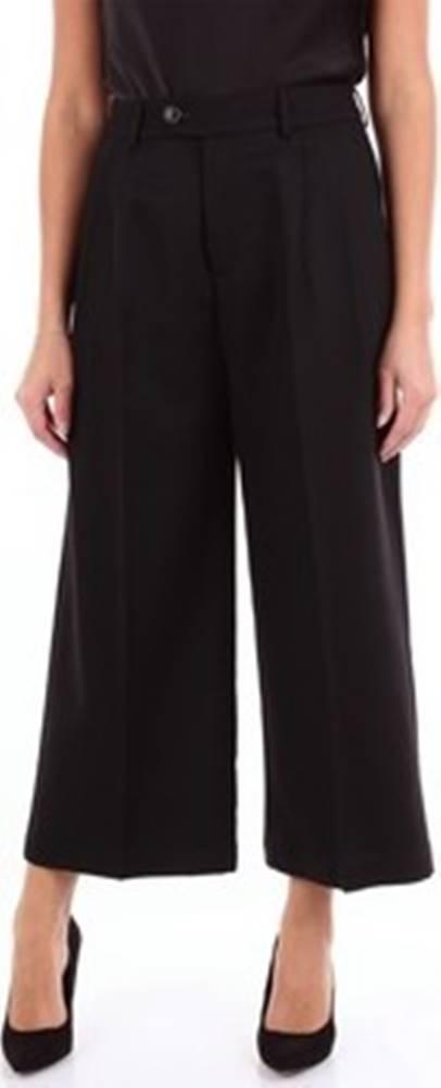 Grifoni Grifoni Ležérní kalhoty GF24000023 Černá