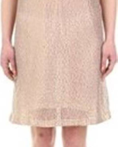 Béžové šaty Twinset Mytwin