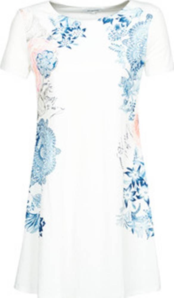 desigual Desigual Krátké šaty CHARLOTTE Bílá