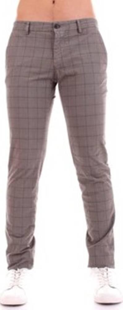Mason's Mason's Kapsáčové kalhoty MILANO-CBE469 Hnědá