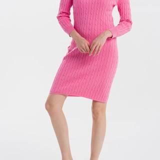 Šaty  Stretch Cotton Cable Dress