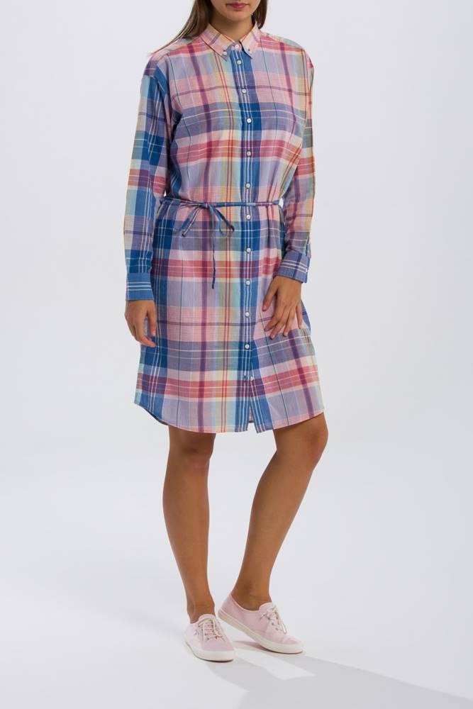 gant Šaty  O2. Madras Shirt Dress