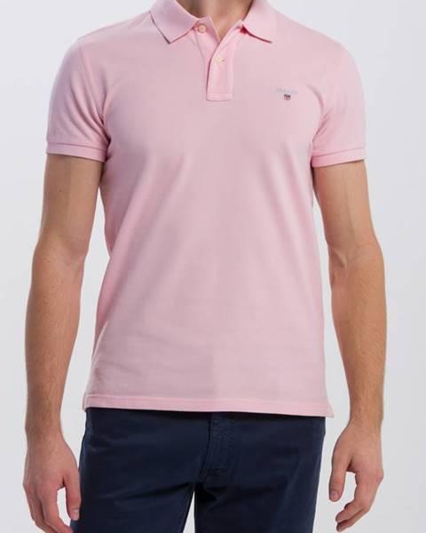 Růžové tričko gant