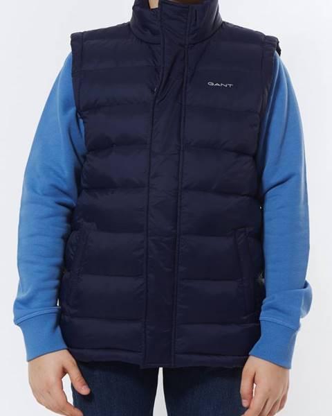 Modrá vesta gant