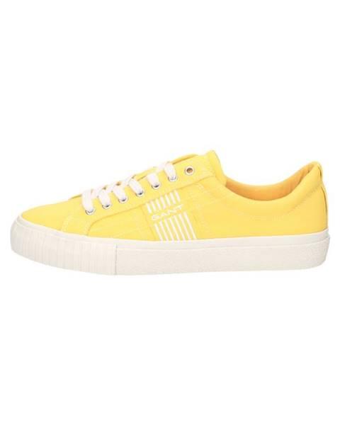 Žluté boty gant