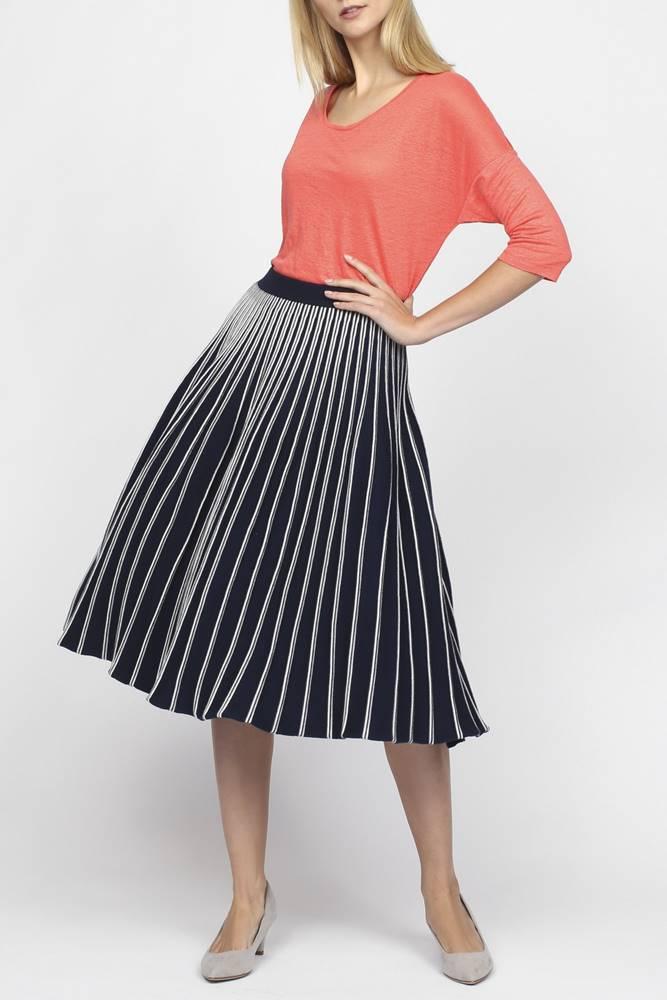 gant Sukně  O2. Flaired Knitted Skirt