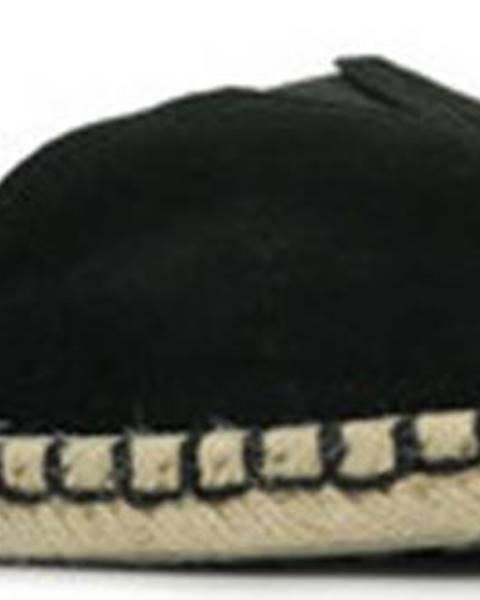 Černé espadrilky Skechers