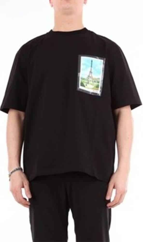 Ami Alexandre Matiussi Ami Alexandre Matiussi Trička s krátkým rukávem J135701 Černá