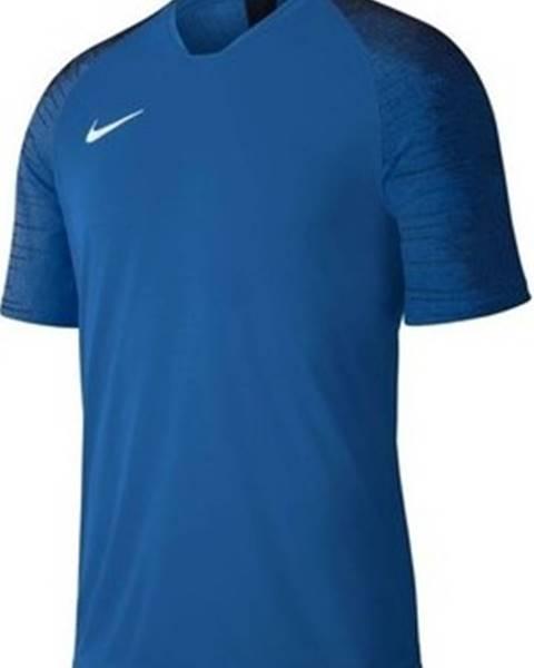 Modré tričko nike