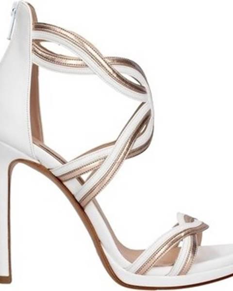 Bílé sandály Albano