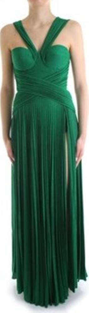 Elisabetta Franchi Elisabetta Franchi Společenské šaty AB17101E2 Zelená