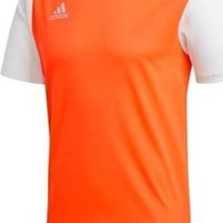 adidas Trička s krátkým rukávem Estro 19 Oranžová
