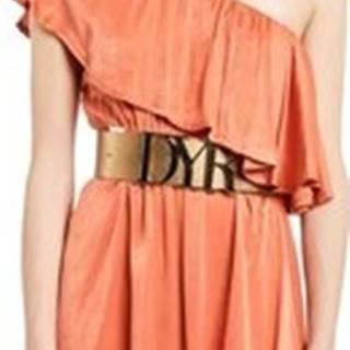 Denny Rose Krátké šaty 011ND15020 Oranžová