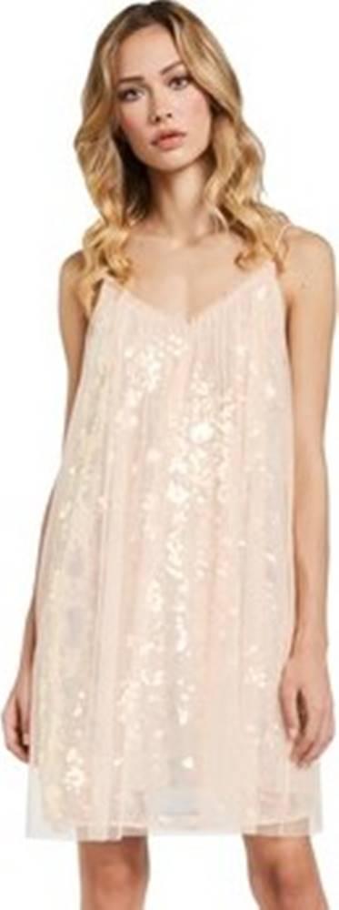 GAUDÌ Gaudi Krátké šaty 011FD15052 Růžová