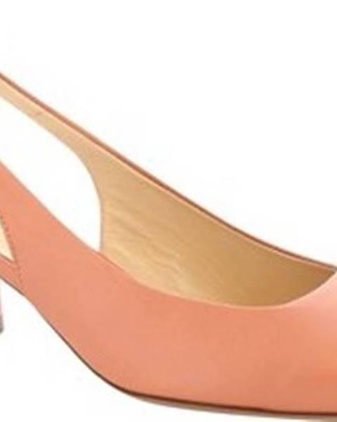 Růžové boty Leonardo Shoes
