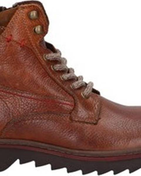 Hnědé boty Prgman
