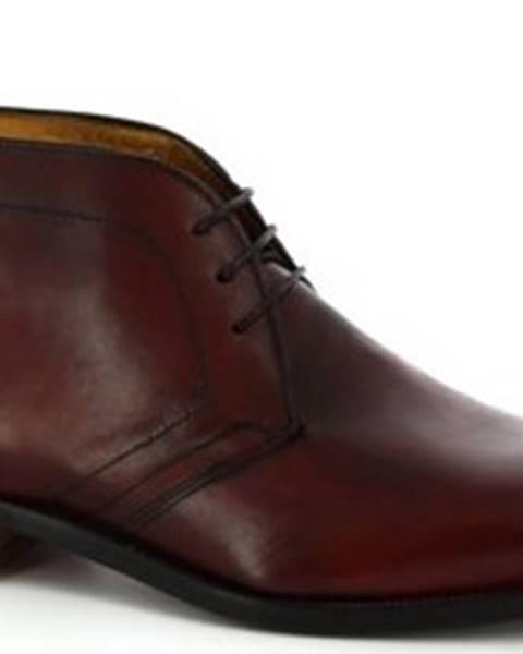 Červené boty Leonardo Shoes