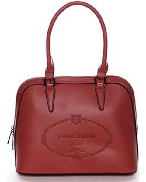 Červená kabelka Pierre Cardin