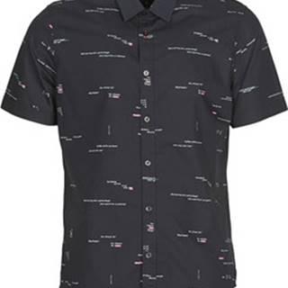 Desigual Košile s krátkými rukávy EMORY Černá