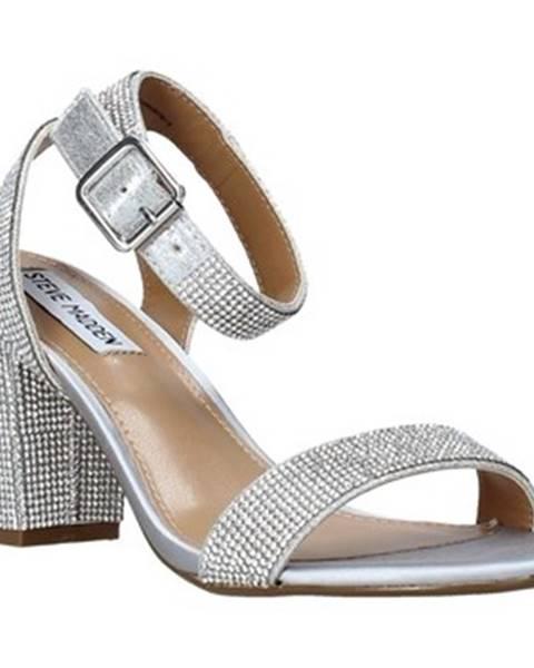 Stříbrné sandály steve madden