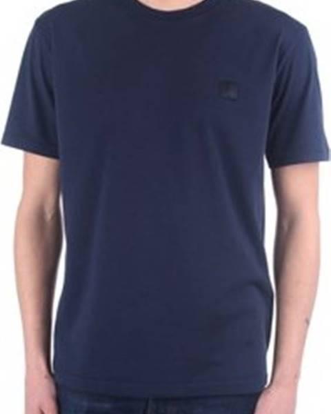 Modré tričko Woolrich