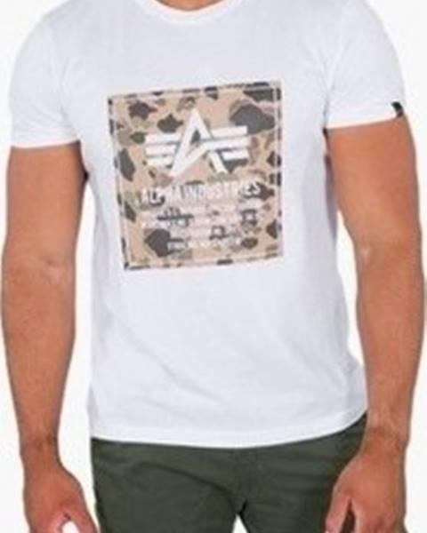 Bílé tričko Alpha