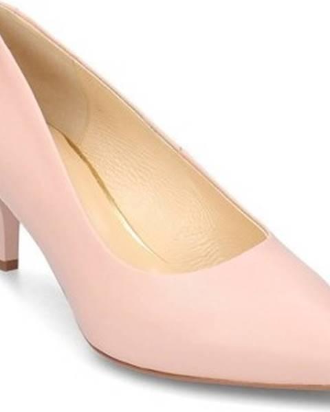 Růžové boty Badura