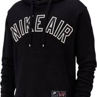 Nike Mikiny Air Hoodie Černá